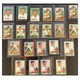 (21) 1951 Bowman Series, Range from #159 to #164