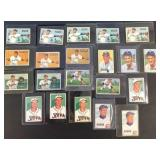 (21) 1951 Bowman Series, Range from #166 to #174