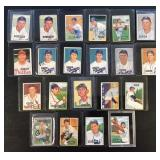 (21) 1951 Bowman Series, Range from #175 to #286