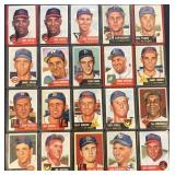 (20) 1953 TOPPS Series, Range from #2 to #33