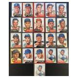 (21) 1953 TOPPS Series, Range from #91 to #122