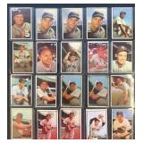 (20) 1953 Bowman Series, Range from #37 to #76