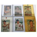 (6) 1952 Bowman; 11, 30, 191, 235, 238, 242