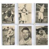 (6) 1947 Bond Bread Baseball Cards