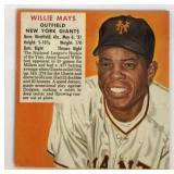 1952 Red Man Willie Mays