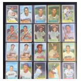 (20) 1954 Bowman Series, Range #48 to #78
