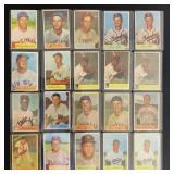 (20) 1954 Bowman Series, Range #108 to #131