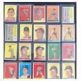 (20) 1958 TOPPS Series, Range #153 to #170