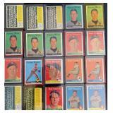 (20) 1958 TOPPS Series, Range #246 to #259