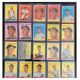 (20) 1958 TOPPS Series, Range #330 to #348