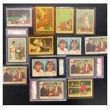 (13) 1959 Fleer Ted Williams, #31 to 40