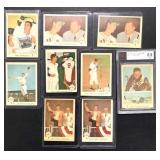 (9) 1959 Fleer Ted Williams, #41 to 48