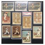 (11) 1959 Fleer Ted Williams, #51 to 60