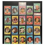 (20) 1959 TOPPS Series, #151 to 300