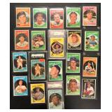 (20) 1959 TOPPS Series, #301 to #398