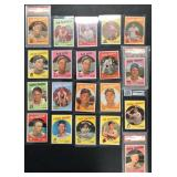 (20) 1959 TOPPS Series, from #400 to 451