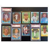 (10) 1960 Fleer Baseball Greats, Range #2 to #28