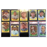 (10) 1960 Fleer Baseball Greats, Range #31 to #44