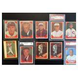 (10) 1960 Fleer Baseball Greats, Range #63to#79
