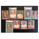 (9) 1960 Fleer Baseball Greats, Range #2 to #79