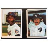(2) 1975 SSPC Sets, Mets & Yankees
