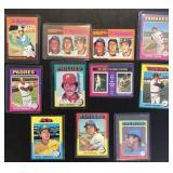 (11) 1975 TOPPS Series, Range #1 to #660