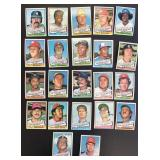 (44) 1976 TOPPS Traded