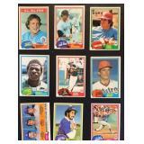 1981 Topps range #1 to #726