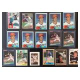 (16) Various Nolan Ryan Baseball Cards