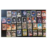 (34) Various Nolan Ryan Baseball Cards