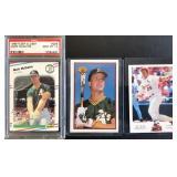 (3) Mark McGwire cards