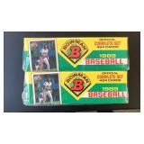 (2) 1989 Bowman Complete Set Baseball Cards