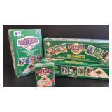 (4 boxes) 1990 Upper Deck sets