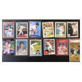 (12) Wade Boggs Baseball Cards