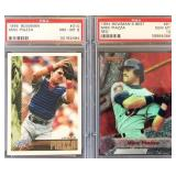 (2) BOWMAN and BOWMANS BEST Mike Piazza