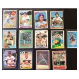 (13) Various Don Sutton Baseball Cards