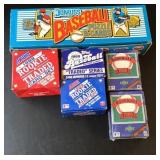 (6) Boxes of Baseball cards