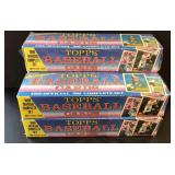 (5) TOPPS Baseball Cards 1989 Complete Sets