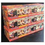 (3) Unopened 1989 Fleer Baseball complete sets