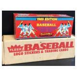 1989 Fleer Set & 1989 Sportflics Magic Motion set