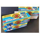 (4) 1990 Bowman Baseball Collector Set