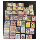 Various cards from the 1960s