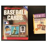(2) Baseball Card Books