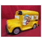 Yellow School Bus Cookie Jar
