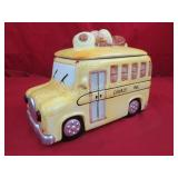 Cookie Bus Cookie Jar