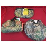 Outdoor Seat Cushions 3pc lot