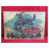 Wooden Rodeo Picture