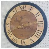 Buck Deer Wooden Clock *No Hands