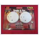 Kidde Smoke & Fire Alarm 2 Pack Unused