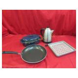 Roaster, Broiling Pan, Frying Pan,